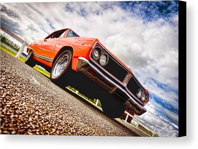 Chevrolet Acadian Canvas Print featuring the photograph 65 Chevrolet Acadian by Phil 'motography' Clark