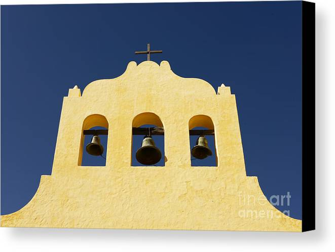 Church Canvas Print featuring the photograph Church Bells by Jon Daly