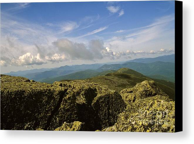 Appalachian Trail Canvas Print featuring the photograph White Mountain National Forest - New Hampshire Usa by Erin Paul Donovan