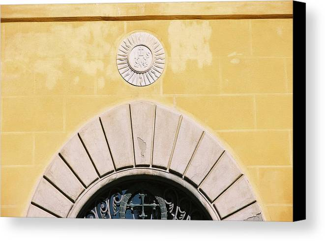 Yellow Canvas Print featuring the photograph Untitled by Kathy Schumann