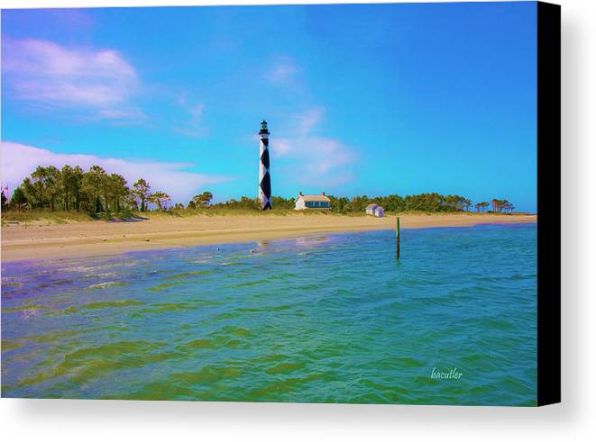 Harkers Island Canvas Print featuring the photograph Cape Lookout 1 by Betsy Knapp