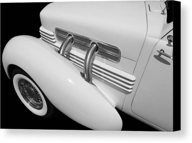 Classic Car Canvas Print featuring the photograph Classic Lines by Aaron Berg