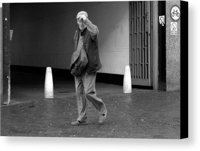 Jez C Self Canvas Print featuring the photograph Farewell Romford And Thanks by Jez C Self