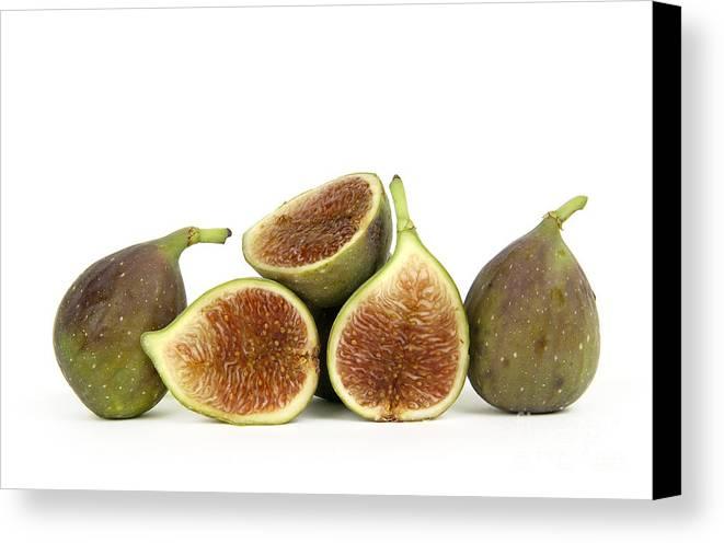 Fruit Canvas Print featuring the photograph Figs by Bernard Jaubert