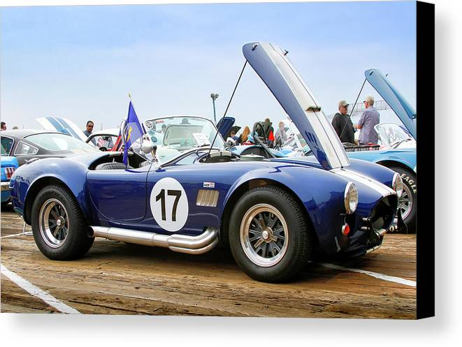 Ford Canvas Print featuring the photograph Ford Ac Cobra 17 by Gene Parks