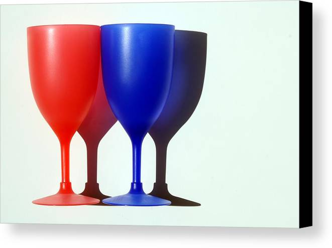 Photo Canvas Print featuring the photograph Goblets by Dan Holm