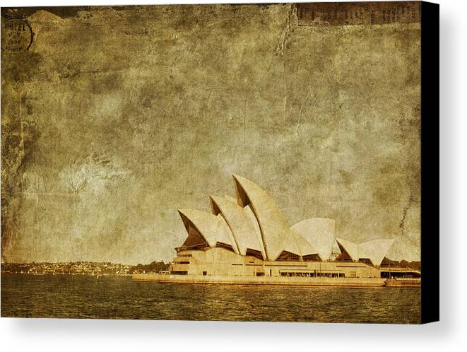 Sydney Canvas Print featuring the photograph Guided Tour by Andrew Paranavitana