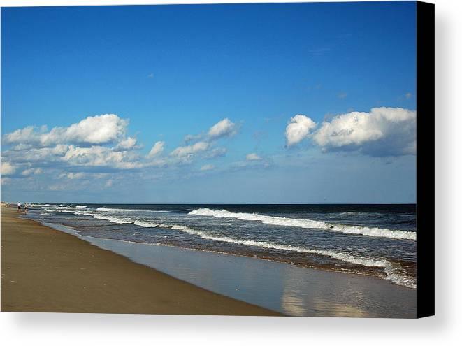 Beach Canvas Print featuring the photograph Huntington Beach South Carolina by Suzanne Gaff