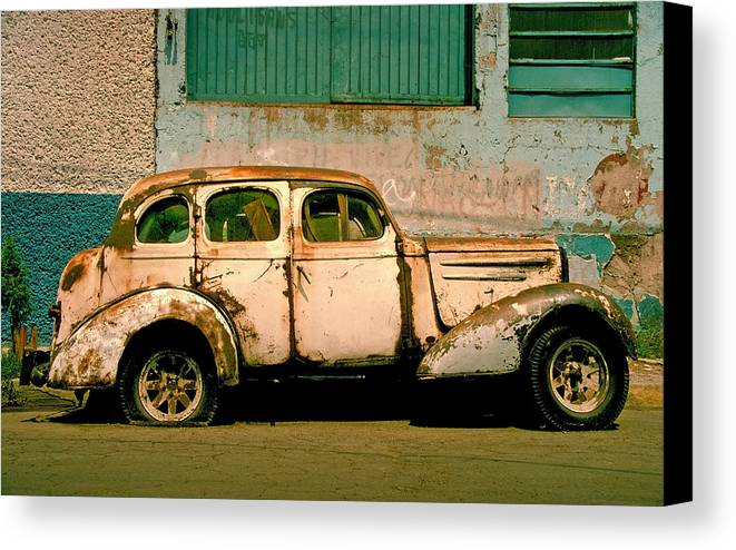 Skip Canvas Print featuring the photograph Jalopy by Skip Hunt