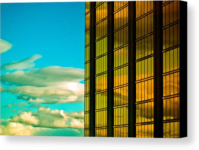 Las Vegas Canvas Print featuring the photograph Las Vegas by Patrick Flynn