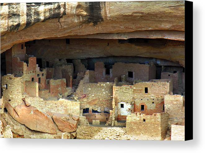 Americana Canvas Print featuring the photograph Mesa Verde by Marilyn Hunt