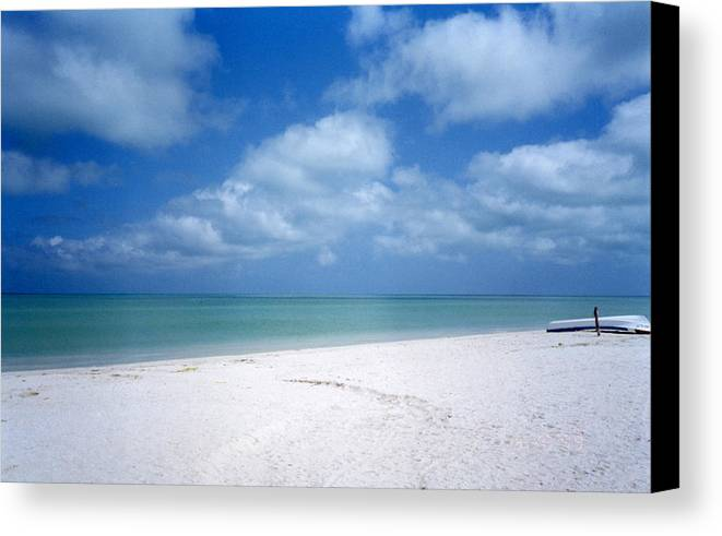 Beach Canvas Print featuring the photograph Mexican Beach by Jessica Wakefield
