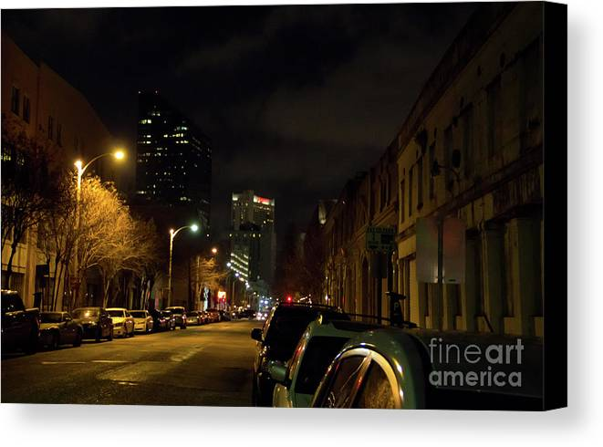 Night Canvas Print featuring the photograph Nighttime In Nola by James Foshee