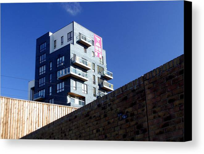 Jez C Self Canvas Print featuring the photograph Peeking Out For The Fence by Jez C Self