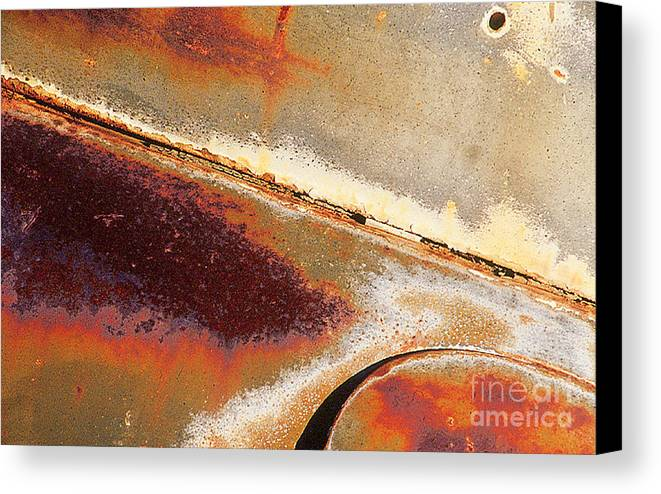 Rust Canvas Print featuring the photograph Rust Is Beautiful 1 by Nancy Hoyt Belcher