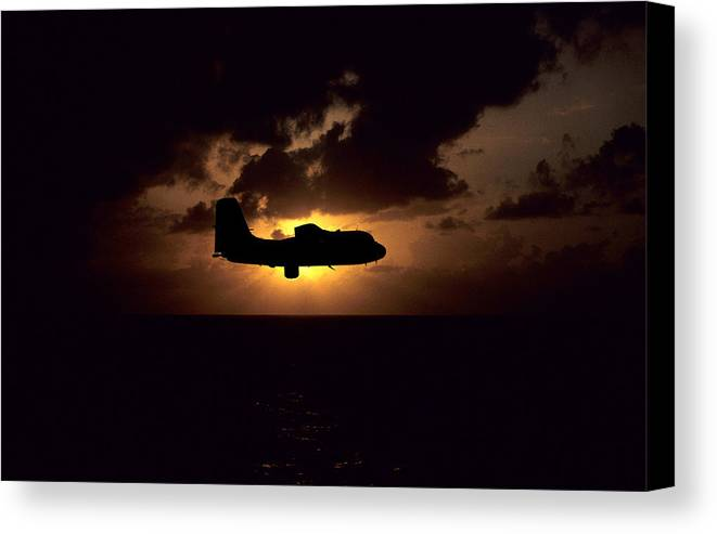 Stoof Canvas Print featuring the digital art Sar Tracker by Mike Ray