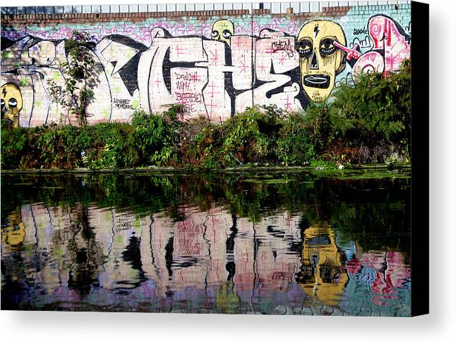 Jez C Self Canvas Print featuring the photograph Skull Of Entire by Jez C Self