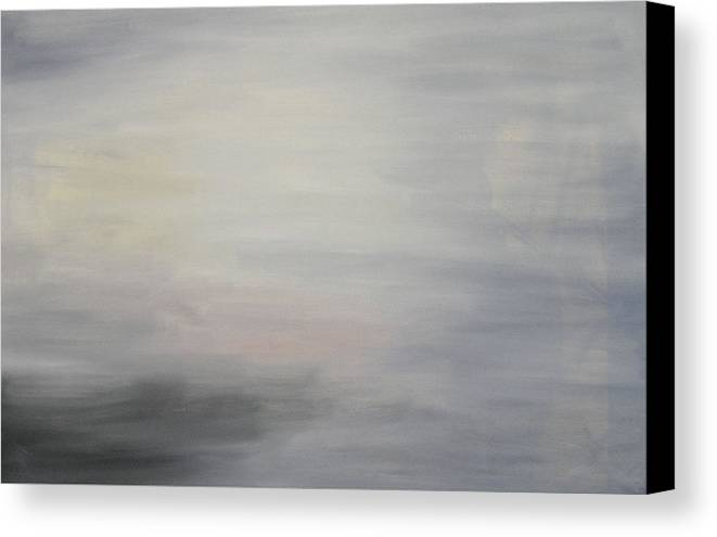 Clouds Sky Canvas Print featuring the painting Special Clouds by Harris Gulko