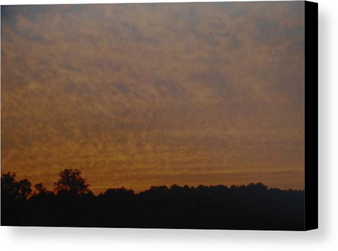 Texas Canvas Print featuring the photograph Texas Sky by Rob Hans