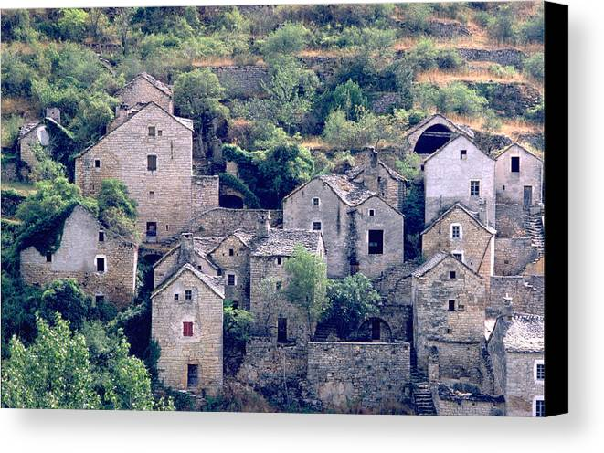 Village Canvas Print featuring the photograph Village by Flavia Westerwelle