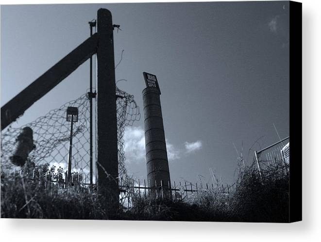 Jez C Self Canvas Print featuring the photograph Wasteland by Jez C Self