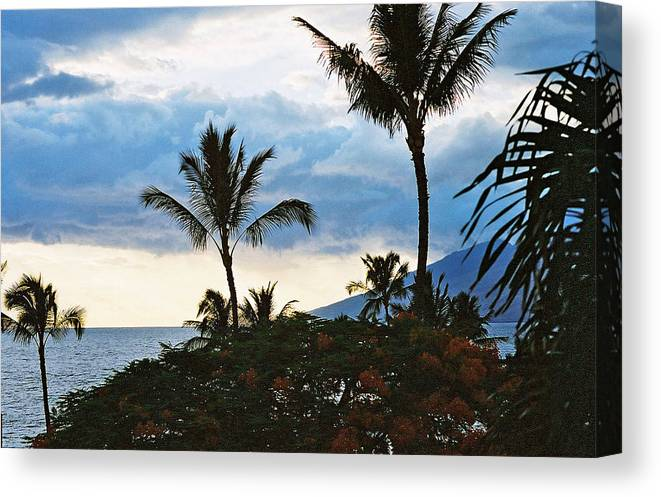 Landscapes Canvas Print featuring the photograph Beautiful Maui Lan 44 by G L Sarti