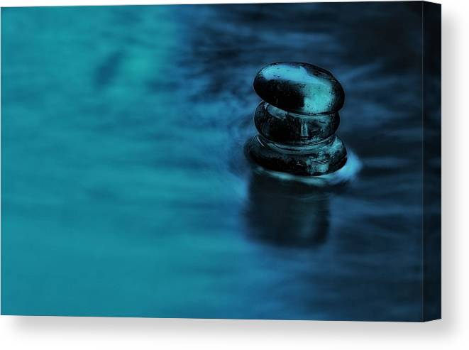 Water Canvas Print featuring the photograph A Gentle Deluge by Mark Fuller