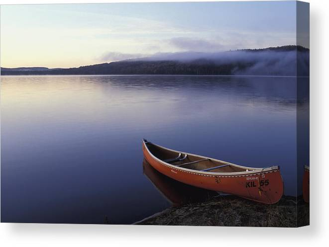 Landscape Canvas Print featuring the photograph Algonquin National Park by Axiom Photographic