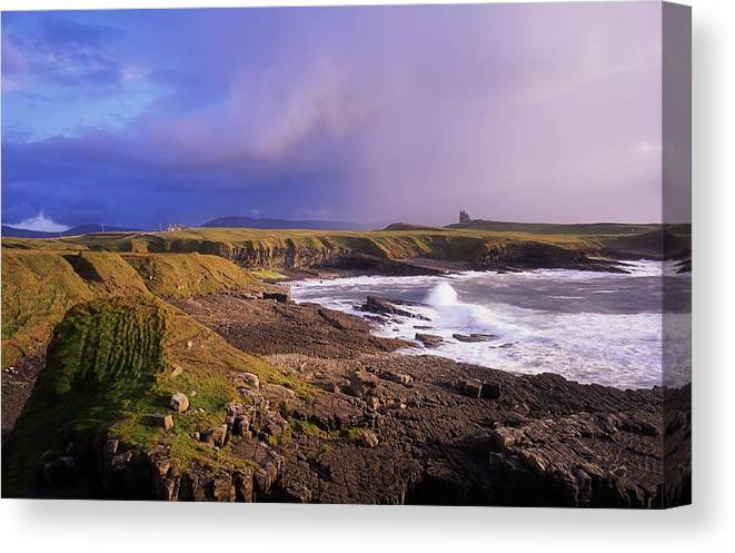 Architectural Heritage Canvas Print featuring the photograph Classiebawn Castle, Mullaghmore, Co by The Irish Image Collection