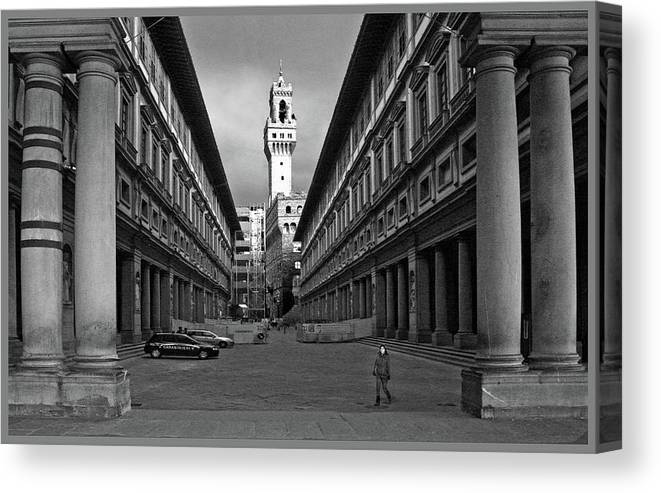 Florence Canvas Print featuring the photograph Florence by Guy Ciarcia