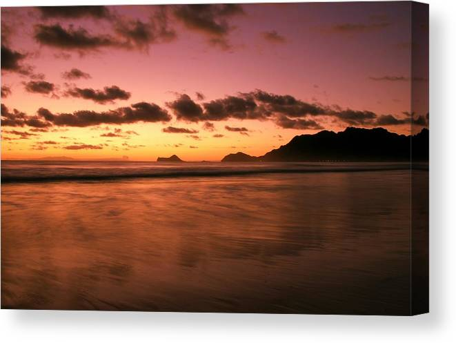 Dawn Canvas Print featuring the photograph Art Of Balance by Mitch Cat