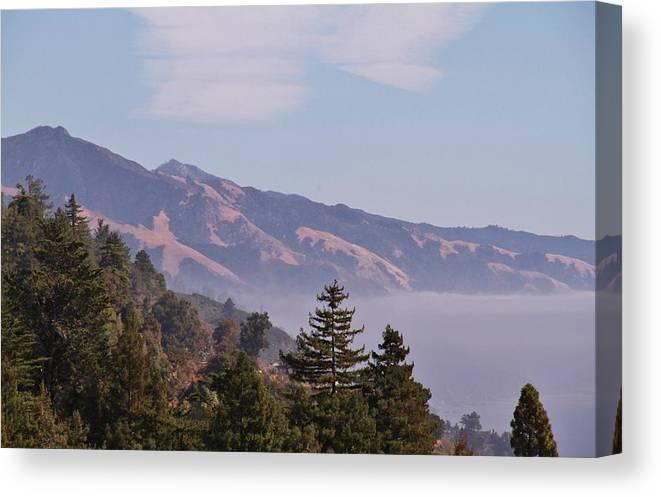 California Canvas Print featuring the photograph Big Sur, Ca 3 by Benji Alexander Palus