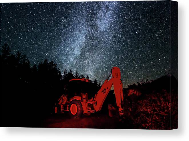 Cherry Springs Canvas Print featuring the photograph Cherry Springs Renovation by Jaron Castro