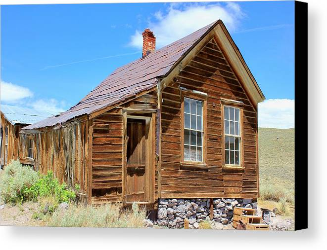 Mining Canvas Print featuring the photograph Bodie California by Douglas Miller
