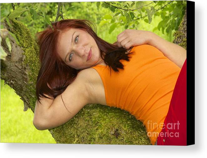 Photography Canvas Print featuring the photograph Country Girl by Sean Griffin