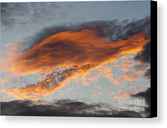 Sunset Canvas Print featuring the photograph Gloaming by Michal Boubin