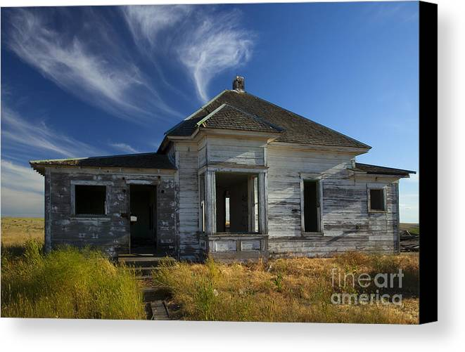Ruin Canvas Print featuring the photograph In Ruin by Mike Dawson