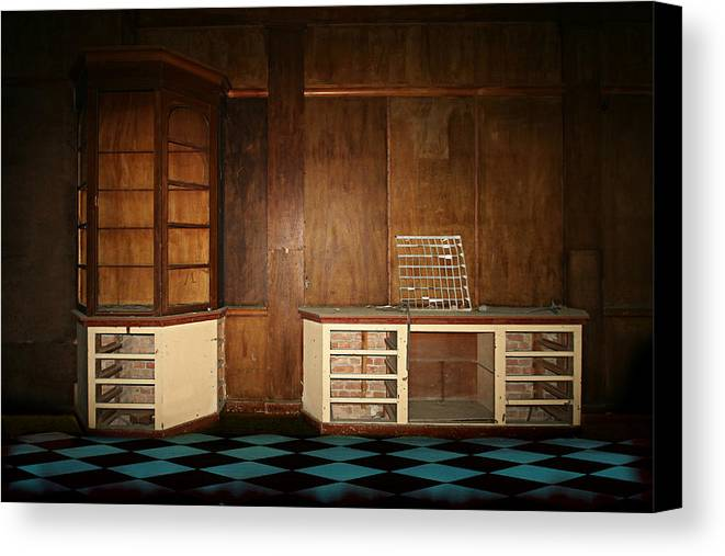 Old Canvas Print featuring the photograph Old Room by Heike Hultsch