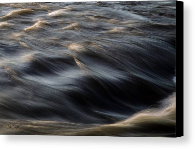 Water Canvas Print featuring the photograph River Flow by Bob Orsillo