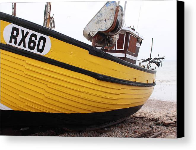 Fishing Canvas Print featuring the photograph 10.56 - Hastings    . by Hugh McClean