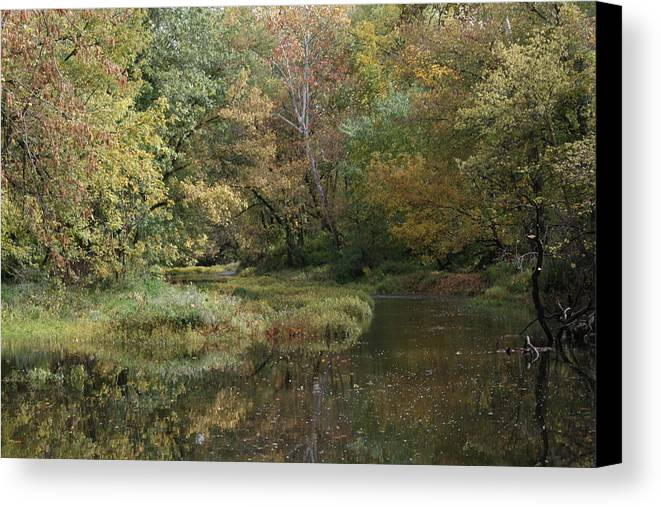 Landscape Canvas Print featuring the photograph Indiana by Mindy Scott