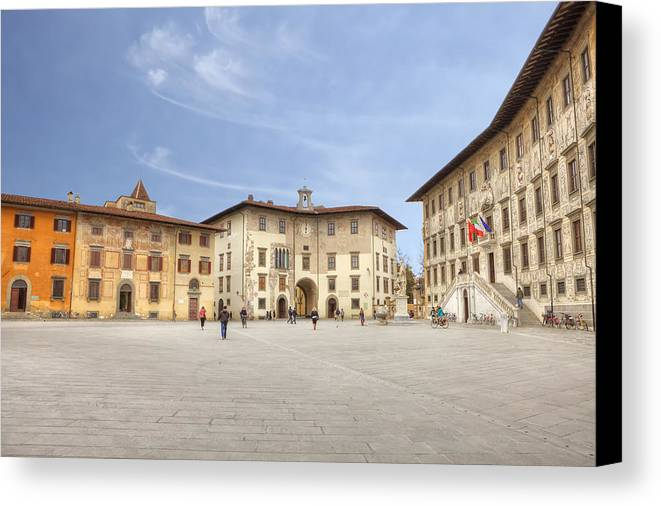Pisa Canvas Print featuring the photograph Pisa by Joana Kruse