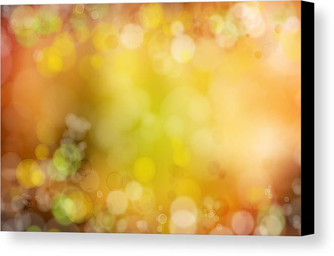 Space Canvas Print featuring the photograph Abstract Background by Les Cunliffe