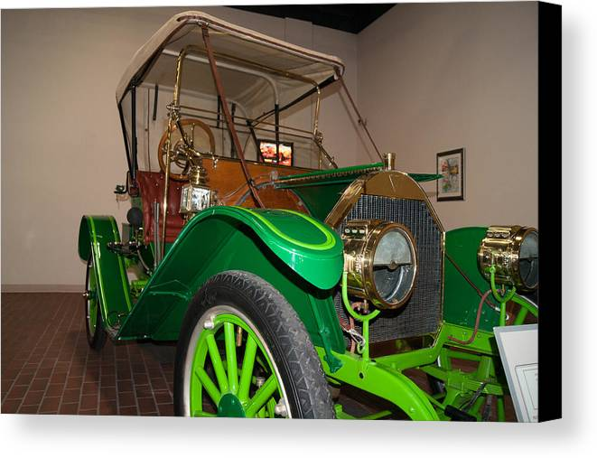 Hudson Canvas Print featuring the photograph 1909 Hudson Model 20 by Craig Hosterman