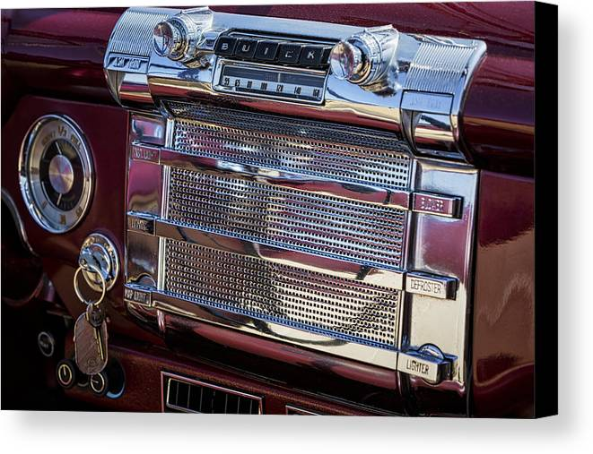Buick Canvas Print featuring the photograph Buick 56c Super Classic by Susan Candelario