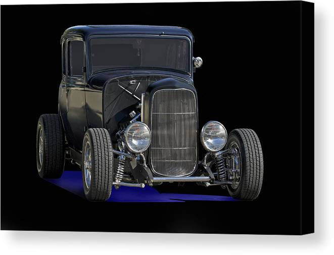 Coupe Canvas Print featuring the photograph 1932 Ford Coupe by Dave Koontz