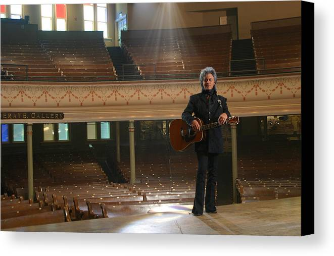 Country Music Art Canvas Print featuring the photograph Marty Stuart by Don Olea