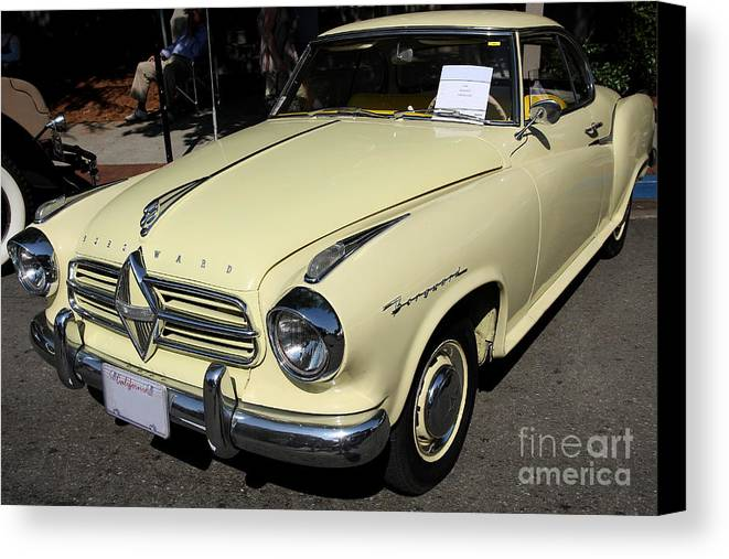 Transportation Canvas Print featuring the photograph 58 Borgward by Wingsdomain Art and Photography