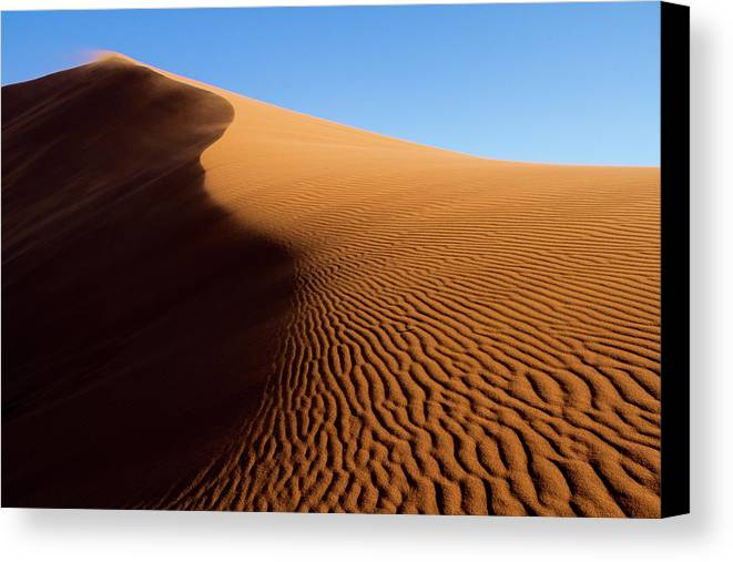 Abstract Canvas Print featuring the photograph Africa, Namibia, Namib-naukluft by Jaynes Gallery