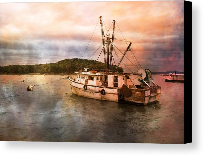 Maine Canvas Print featuring the photograph After The Storm by Betsy Knapp